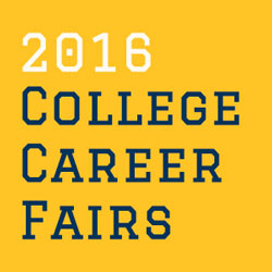 2016 Benham College Career Fairs