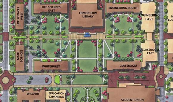 Oklahoma State Campus Master Plan | Benham | Architecture ...