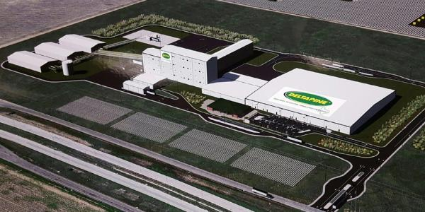 Monsanto Cotton Seed Processing Facility in Texas