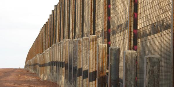 U.S. Mexican Border Fence
