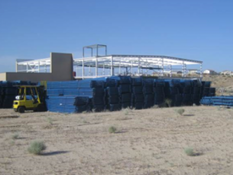 Church Dwight Dry Material Processing Facility
