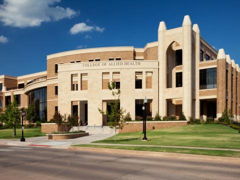 University of Oklahoma, Health Sciences Center, College Allied Health