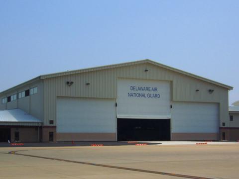 C-130J Maintenance Hangar and Shops Delaware Air National Guard