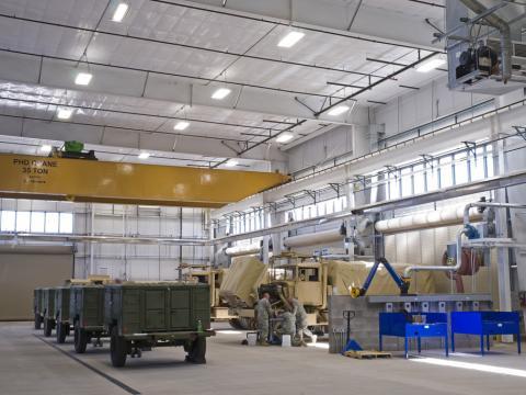BCT3 Tactical Equipment Maintenance Facilities (TEMF)