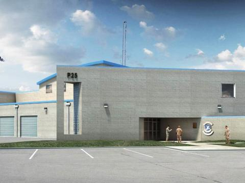 Illinois Air National Guard Security Forces Complex