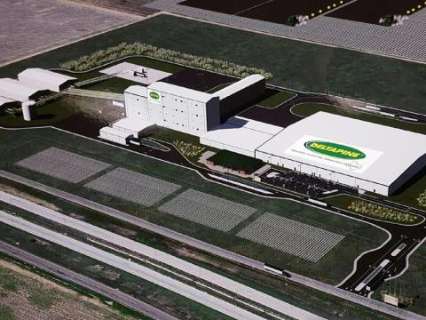 Monsanto Cotton Seed Processing Facility