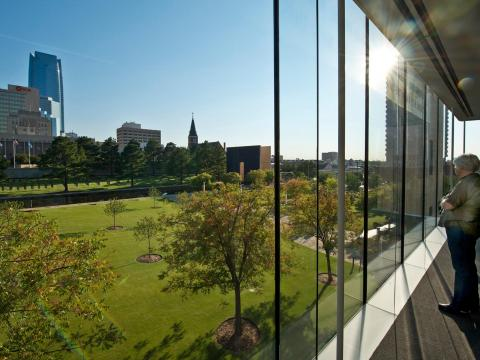 Oklahoma National Memorial and Museum Overlook