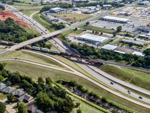 I235/I44 Interchange
