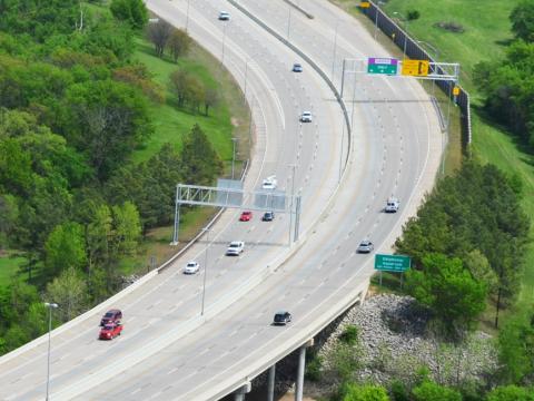 Traffic Planning Creek Turnpike