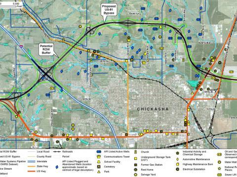 Traffic Planning US-81 Chickasha