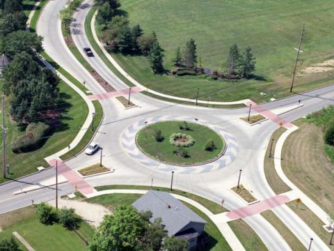 Traffic Planning Wildwood Roundabout
